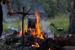 Bonfire_2 Arkivbilder