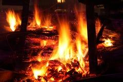 The bonfire Royalty Free Stock Photo