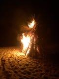 Bonfire Costa Rica Royalty Free Stock Image