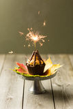 Bonfire cupcakes Stock Image