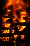 Bonfire detail Stock Image