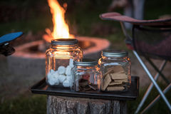 Bonfire essentials Royalty Free Stock Photo