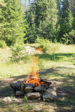 Bonfire. Royalty Free Stock Photo