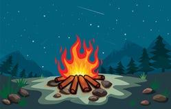 Bonfire Cartoon Stock Image Image 30156431