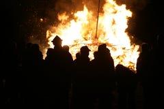 Bonfire funken Royalty Free Stock Photos