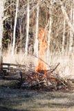 Bonfire high Stock Photos
