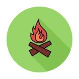 Bonfire icon Stock Images