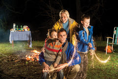 Bonfire Night Royalty Free Stock Photo