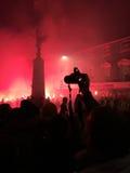 Bonfire night festivities of Lewes Stock Image