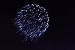 Bonfire Night fireworks displays in London. United Kingdom Royalty Free Stock Photography