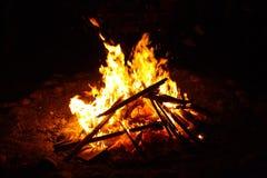Bonfire Of Saint Anthony Stock Photos