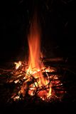 Bonfire Sparks Royalty Free Stock Photo