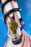 bong cannabisen Fotografering för Bildbyråer