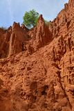 Bong Lai Red Canyons. The Bong Lai or Suoi Tre Red Canyons near Mui Ne in south central Bình Thuan Province, Vietnam Stock Images