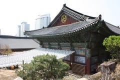 Bongeunsa, Сеул, Южная Корея Стоковые Изображения RF