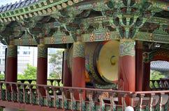 Bongeunsa Buddhist Temple in Seoul, South Korea Stock Photo