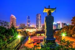 Bongeunsa Temple in Korea. Stock Image