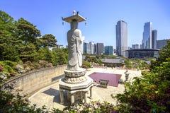 Bongeunsa temple, Seoul, Korea Royalty Free Stock Photos