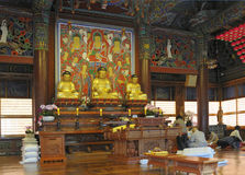 The Bongeunsa temple Seoul Royalty Free Stock Image