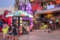 Bongo Cancun dei Cochi Fotografia Stock Libera da Diritti