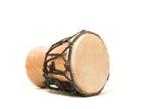 Bongo drum. Isolated on white background stock image