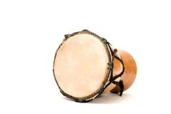 Bongo drum. Isolated on white background stock photography