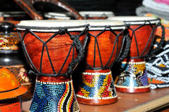 Bongo drums. Image of small drums used for fun in holidays royalty free stock images