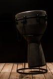 Bongo musicale del tamburo dello strumento di percussione Immagini Stock Libere da Diritti