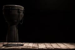 Bongo musicale del tamburo dello strumento di percussione Fotografie Stock