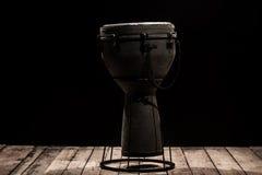 Bongo musicale del tamburo dello strumento di percussione Fotografia Stock
