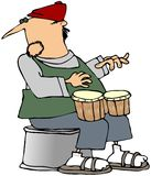 Bongo Player Stock Image