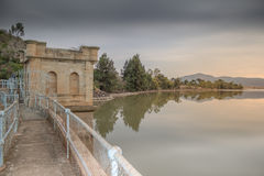Bongola Dam Wall Queenstown Royalty Free Stock Photo