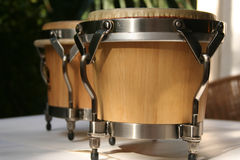 Bongos. The music is going to start Royalty Free Stock Image