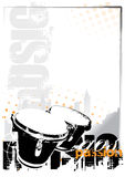 Bongos background Royalty Free Stock Photography
