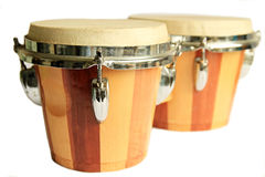 Bongos. Image of bongo on white background Royalty Free Stock Image