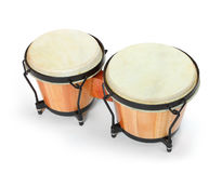 Bongos percussion. Royalty Free Stock Image
