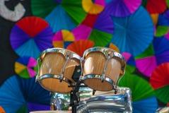 Bongos, tambor de bongo Imagen de archivo libre de regalías
