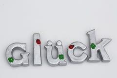 Bonheur, comme texte, mot, écrit, lettres, texte libre, fortune Images stock