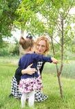 Bonheur de famille de campagne photo libre de droits