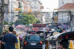 Bonheur de la Thaïlande de festival de Songkran Photos stock