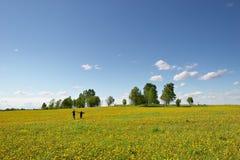 Bonheur et liberté Photo stock