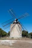 Bonheur Moulin - Porquerolles Island Royalty Free Stock Photos