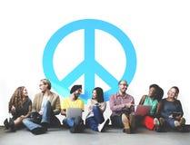 Bonheur paisible Liberty Concept de symbole Image stock