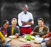 Bonheur Team Concept d'unité de la Communauté de personnes Photo libre de droits