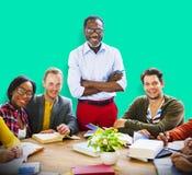 Bonheur Team Concept d'unité de la Communauté de personnes Images stock