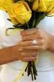 Bonheur Wedded Image libre de droits