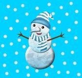 Bonhomme de neige Photos stock