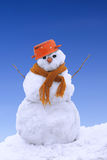 Bonhomme de neige Photos libres de droits