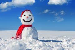 Bonhomme de neige Photographie stock