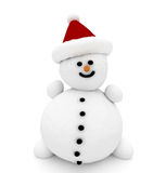 bonhomme de neige 3d Photos stock